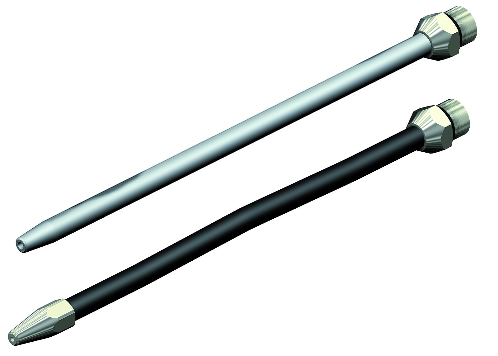 Náhradní tryska - s gumovou ochranou 110mm A10-A18 -  Ilustrativní foto