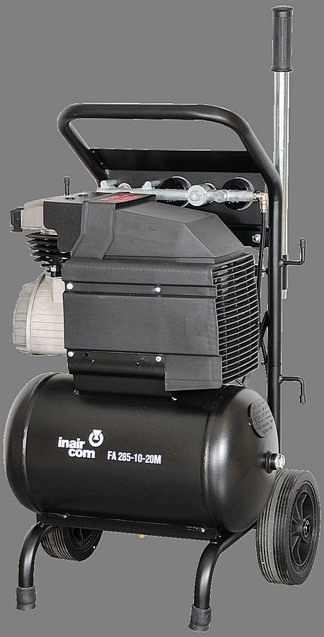 FA 285-10-20M - Pojízdný pístový kompresor s rámem Frame Air 1,8 kW