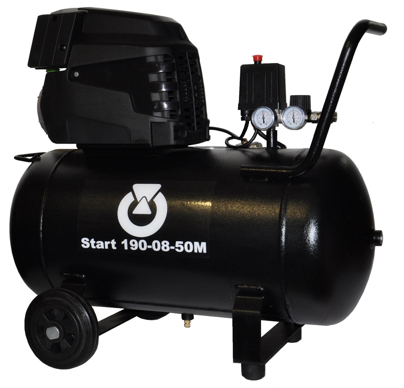 Start 190-08-50M - Pojízdný pístový kompresor START 1,5 kW