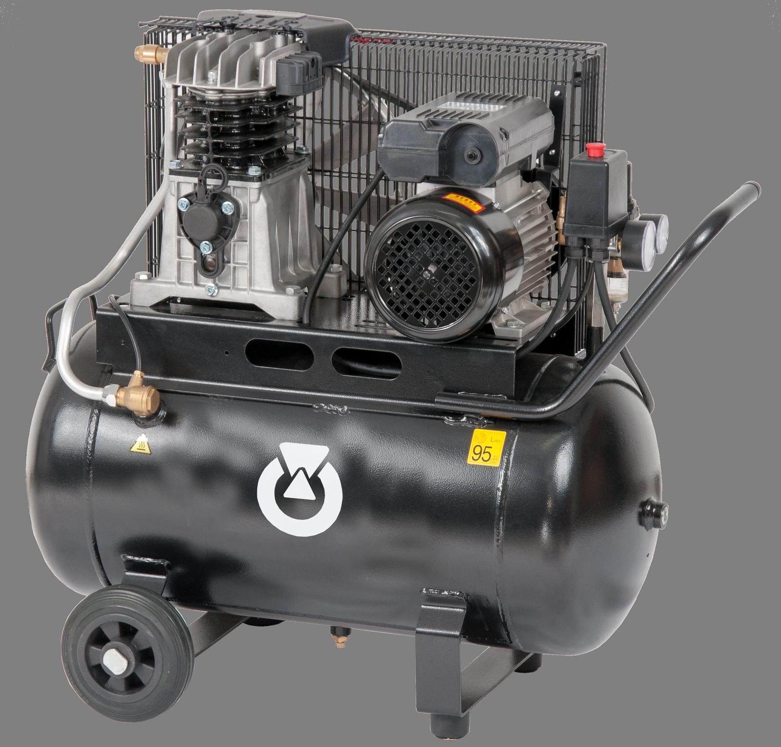 Start 235-10-50M - Pojízdný pístový kompresor START 1,5 kW