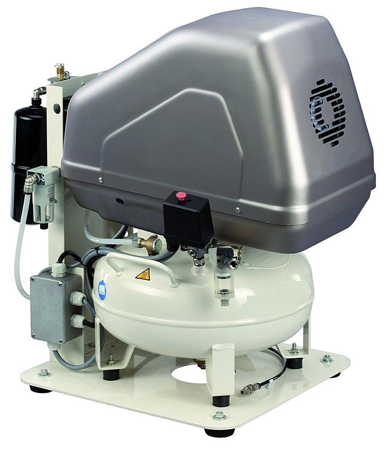 MedAS 102-08-24M - Pístový bezolejový odhlučněný kompresor Medic Air Silent Ilustrativní foto