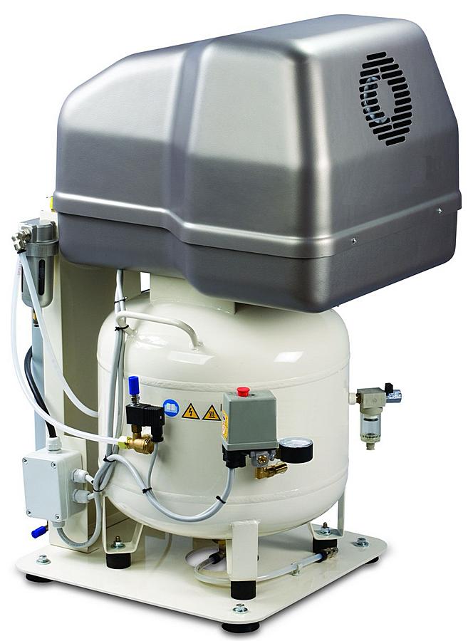 MedAS 320-08-50M - Pístový bezolejový odhlučněný kompresor Medic Air Silent Ilustrativní foto