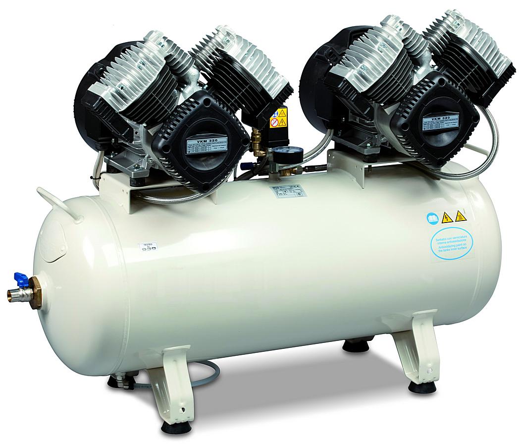 MedA 640-08-90T - Pístový bezolejový kompresor Medic Air