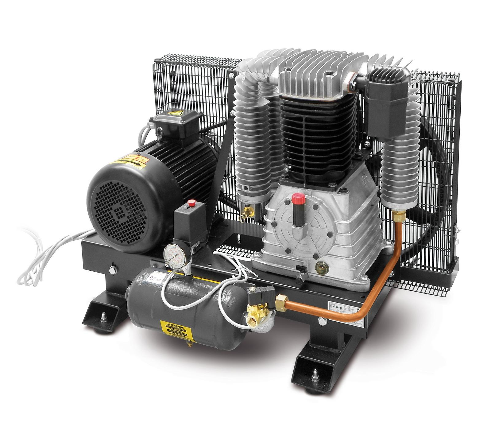 BASE AIR 1070-11-3T - Přístavný pístový kompresor Base Air 7,5 kW