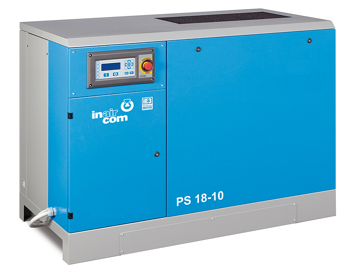 PSI-B 11-08 - Stacionární šroubový kompresor s frekvenčním měničem Ilustrativní foto