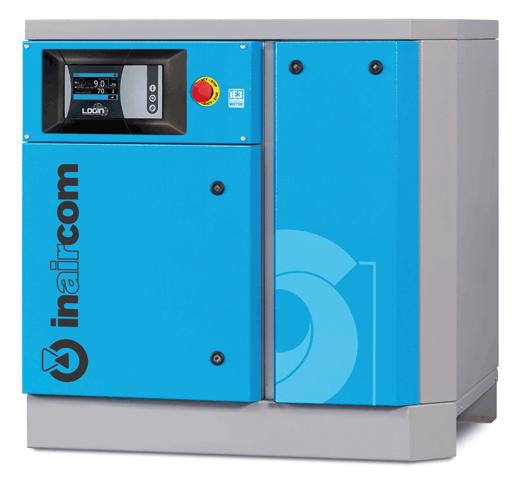 PSI-M 11-08 - Stacionární šroubový kompresor s frekvenčním měničem Ilustrativní foto