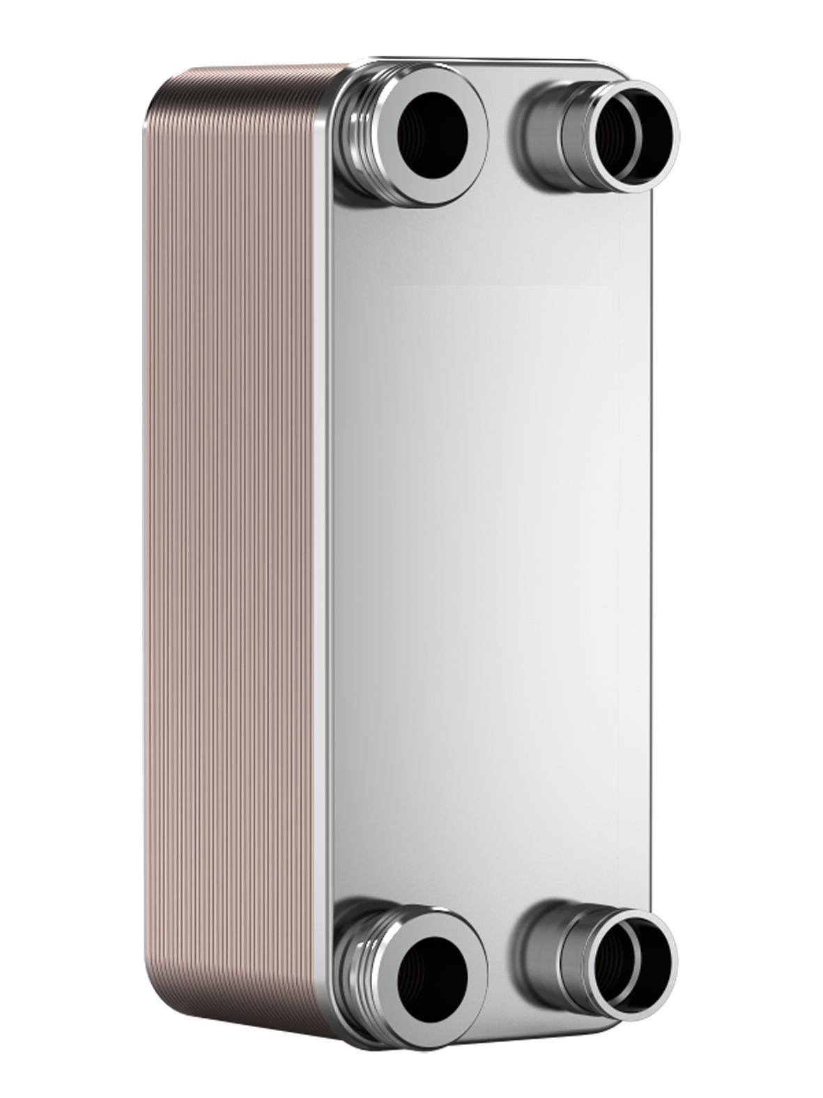 Deskový výměník pro 11 kW kompresor včetně přípravy - Rekuperace odpadního tepla