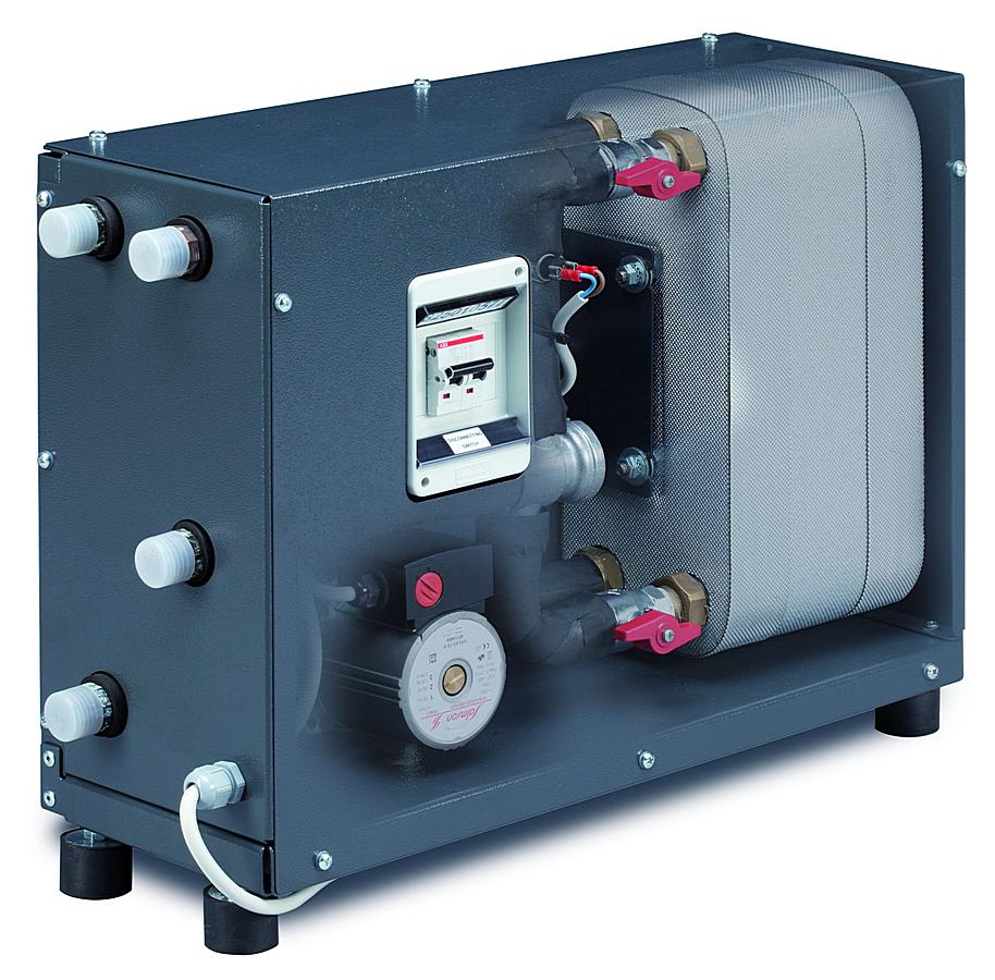 RJ 100 s termostatickým ventilem - Rekuperační jednotka