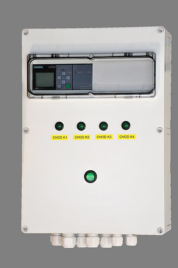 PRESSCONT H4 - Řídící jednotka pro 2-4 kompresory